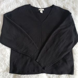Vneck H&M black sweater